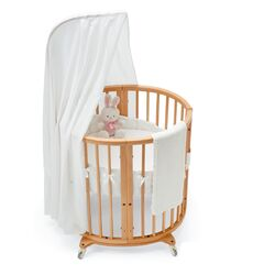 Stokke-Sleepi Bassinet Fitted Sheet in White