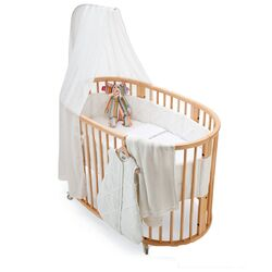 Stokke-Sleepi Crib Protection Sheet Oval