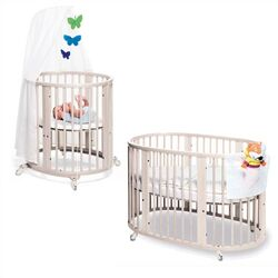 Sleepi Bassinet and Crib Set in White