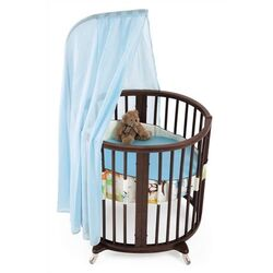 Sleepi Mini Bassinet Bedding Collection in Green Tales-Sleepi Cover in Green Tales