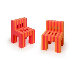 EVA Foam Kid's Desk Chair (Set of 2)