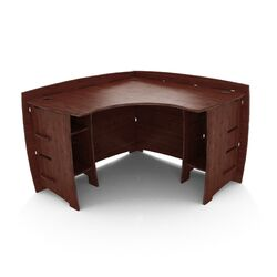 Sustainable Bamboo Corner Desk