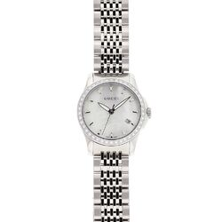 Women's Timeless Watch with White Mother of Pearl Dial