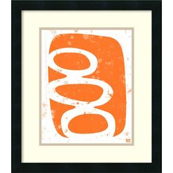 'Orange' by Suzanna Anna Framed Painting Print