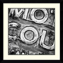 'Motor Court Neon' by Keith Dotson Framed Art Print by Amanti Art