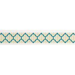 Jonathan Adler Elephant Paisley Stripe Wall Decal
