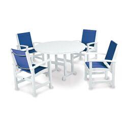 Coastal 5 Piece Dining Set