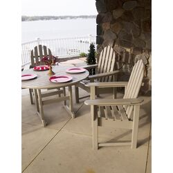 Casual Adirondack 5 Piece Dining Set