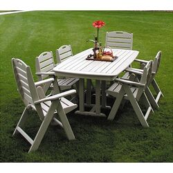 Nautical Casual 7 Piece Dining Set