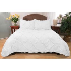 3 Piece Pouf Down Alternative Mini Comforter Set
