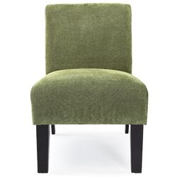 Deco Solid Fabric Slipper Chair