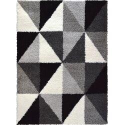 Lexington Gray/Black Area Rug