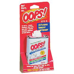 4.5 oz Oops! Cleaner 710755
