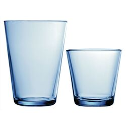 Kartio Glassware Set Light Blue-Kartio 13 Oz. Tumblers