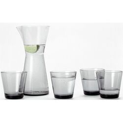 Kartio Glassware Set Grey-Kartio 7 Oz. Tumblers