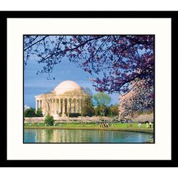 Cityscapes 'Jefferson Memorial, Washington DC' by Charles Shoffner Framed Photographic Print