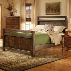 Leadville Queen Panel Bed