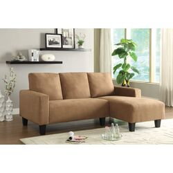 Wholesale Interiors Tybalt Twill Sectional Amp Reviews Wayfair