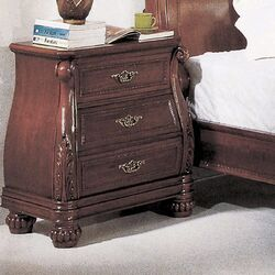 Sierra 3 Drawer Nightstand