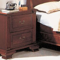 Audrey 2 Drawer Nightstand