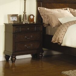 Mclean 3 Drawer Nightstand