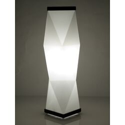 Trovato Diamond Table Lamp in White
