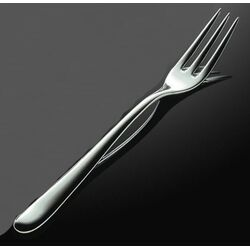 Caccia Pronged Table Fork in Mirror Polished by Luigi Caccia Dominioni (Set of 6)