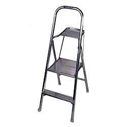 4.5' Aluminum Project Step Ladder
