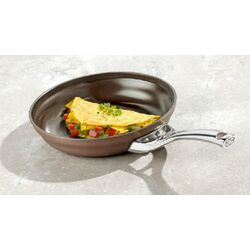 Contemporary Nonstick Bronze Anodized Edition Non-Stick Omelette Pan