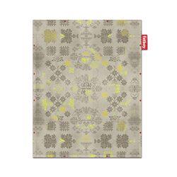 Non-Flying Carpet Yellow Area Rug
