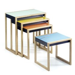 Albers 4 Piece Set Nesting Tables