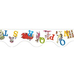 Dr Seuss Abcs Deco Trim (Set of 3)