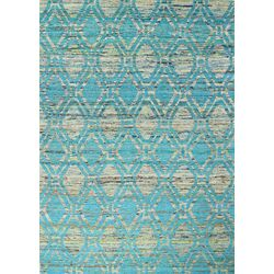 Dynamic Rugs Ancient Garden Blue Ivory Area Rug Amp Reviews