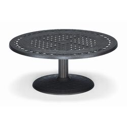 48'' Round Pedestal Conversation Height Table