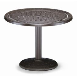 30'' Round Pedestal Conversation Height Table