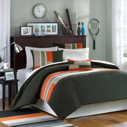 Pipeline 4 Piece Full / Queen Duvet Cover Set