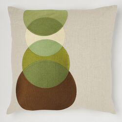 Four Eyes Linen Pillow