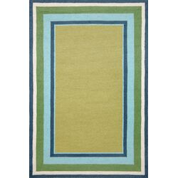 Newport Seaside Border Indoor/Outdoor Area Rug