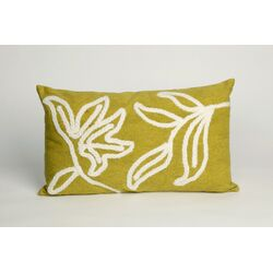 Windsor Rectangle Indoor/Outdoor Pillow in Lime