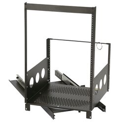 Rotating Rack without Rack Rail