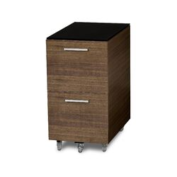 Sequel Two Drawer Tall Mobile File Pedestal