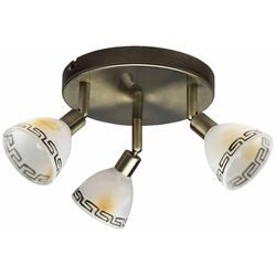 Brilliant Murcia 3 Light Ceiling Spotlight