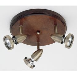 Brilliant Madeira 3 Light Ceiling Spotlight