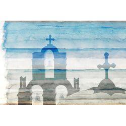 Kamari Painting Print on Canvas