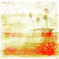Life Guard Painting Print on Canvas