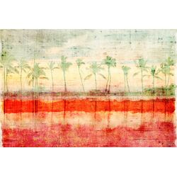 Palm Beach Painting Print on Canvas