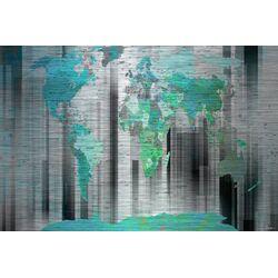 Moon Shadow Graphic Art Plaque