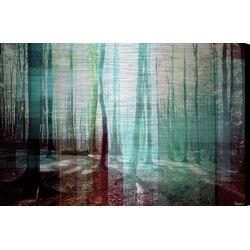 Tree Rays Graphic Art Plaque