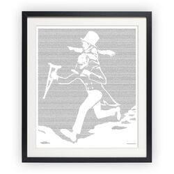 A Christmas Carol Framed Graphic Art