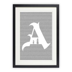 The Scarlet Letter Graphic Art